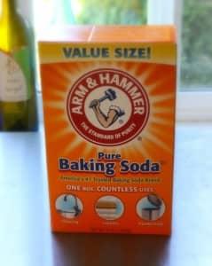 Homemade Shampoo with Baking Soda