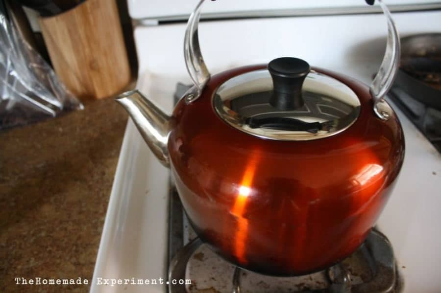 boil water for making french press