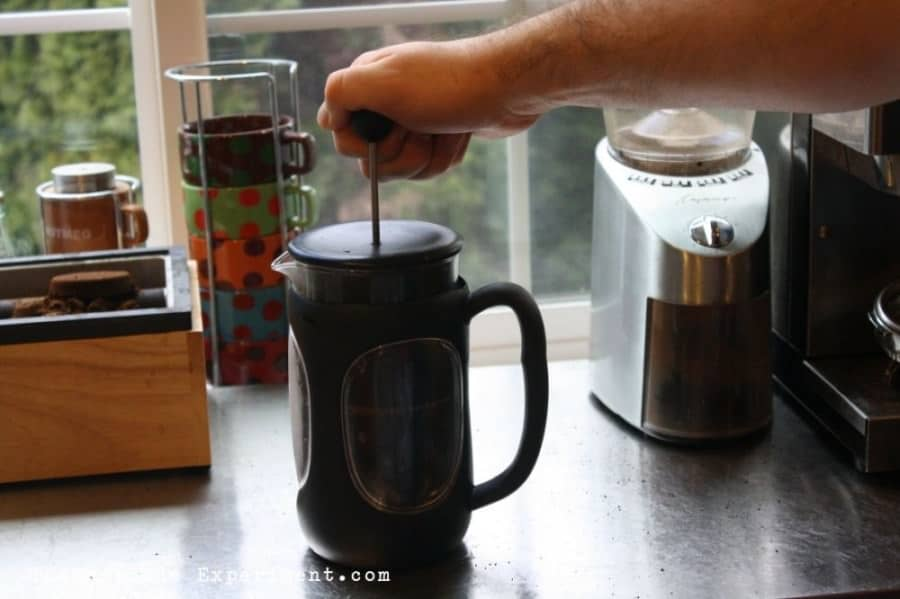 plunge the french press
