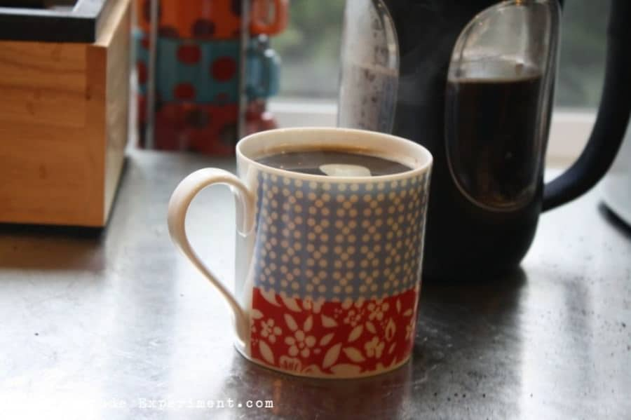 enjoy that cup of french press