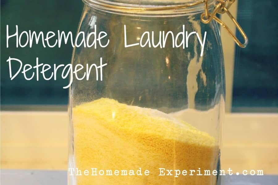 Here's how to make homemade laundry detergent at home