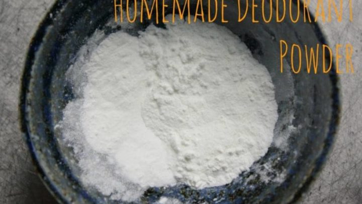how to make deodorant powder