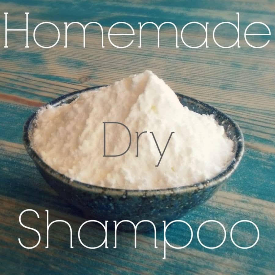 How to Make Homemade Dry Shampoo
