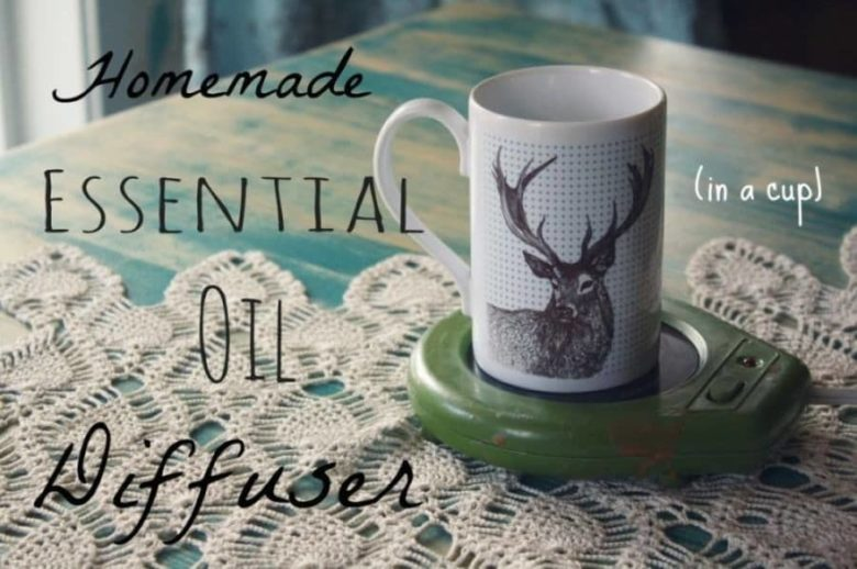 Essential Oil Diffuser With a Candle Warmer