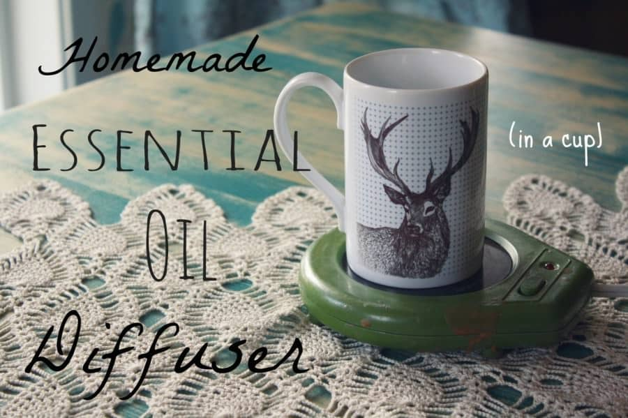 homemade essential oil diffuser