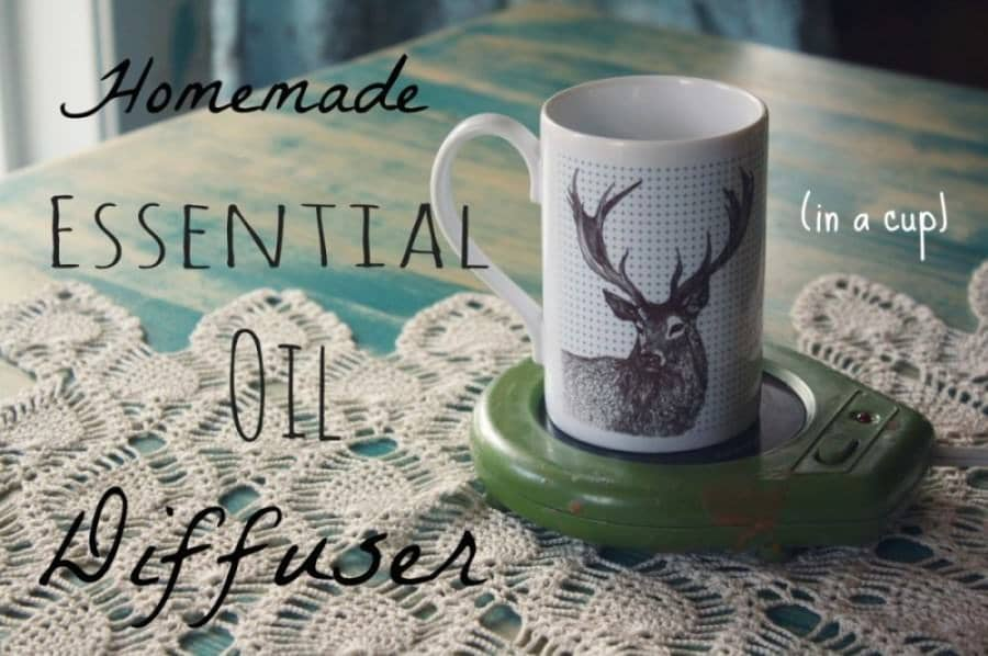 Homemade Essential Oil Diffuser With a Candle Warmer