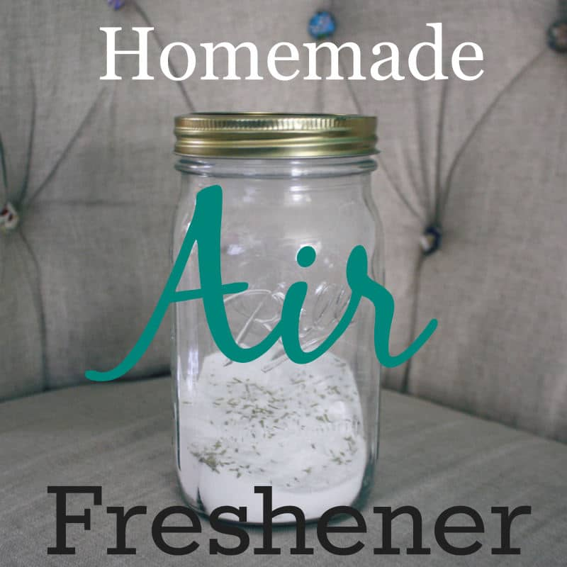 Homemade Air Freshener with Baking Soda