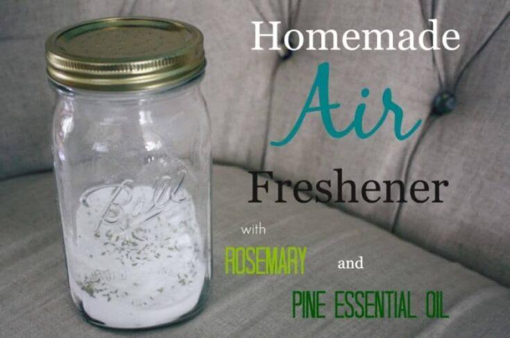 Homemade Air Freshener with Baking Soda