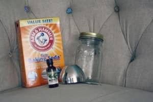 ingredients for homemade air freshener