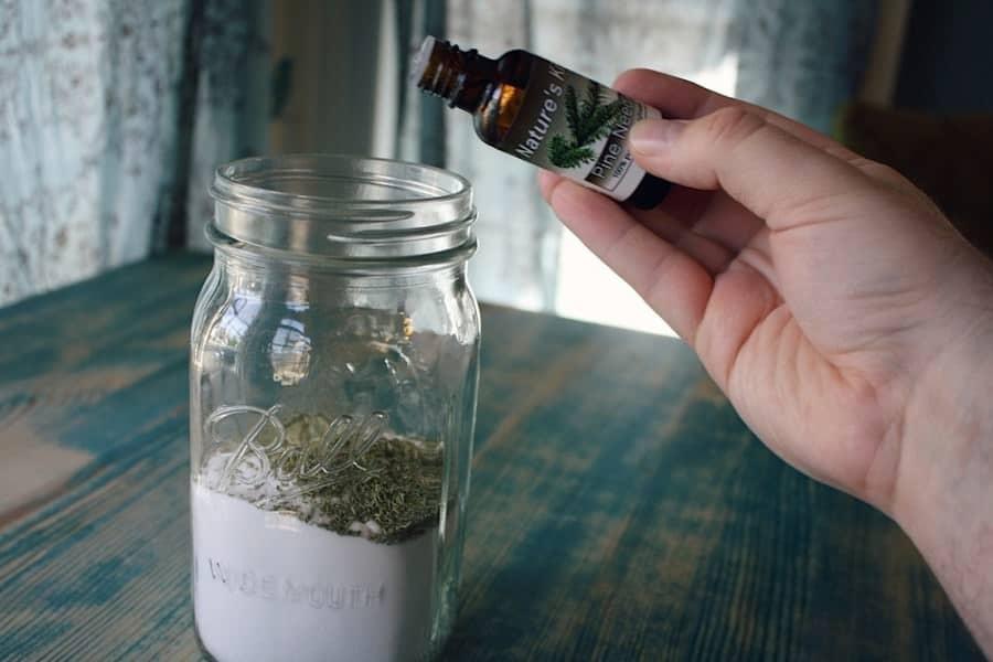 homemade carpet freshener add in essential oil