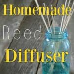 How to make an essential oil reed diffuser