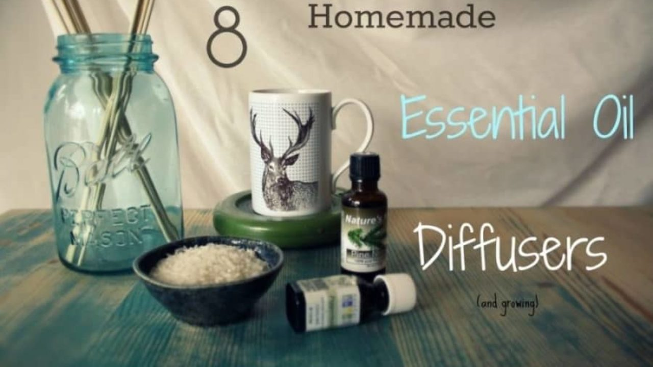 8 Homemade Essential Oil Diffusers