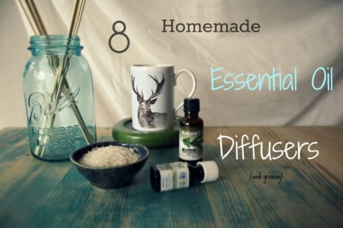 homemade essential oil diffusers