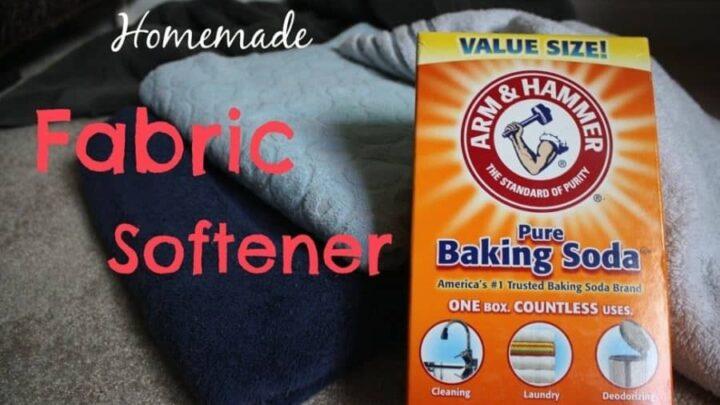 homemade fabric softener