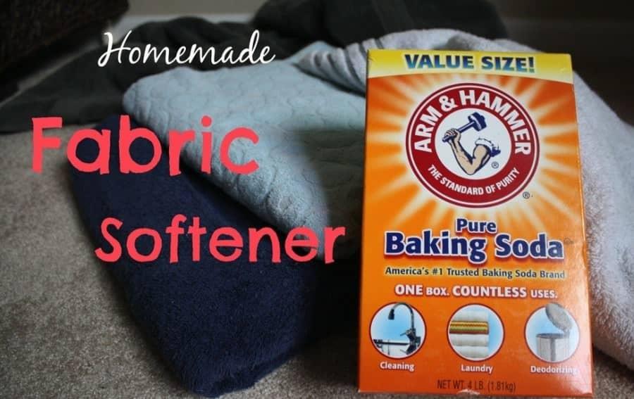 Easy Homemade Fabric Softener Recipe With Baking Soda