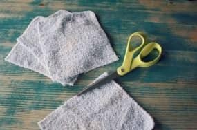 diy dryer sheet cut your cloth