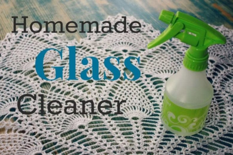 homemade glass cleaner
