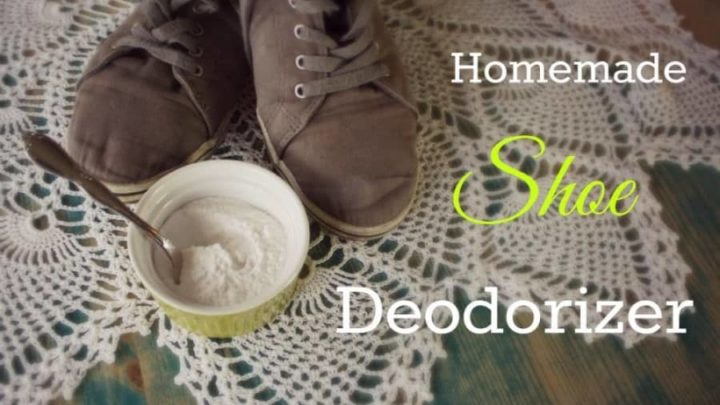 homemade shoe deodorizer