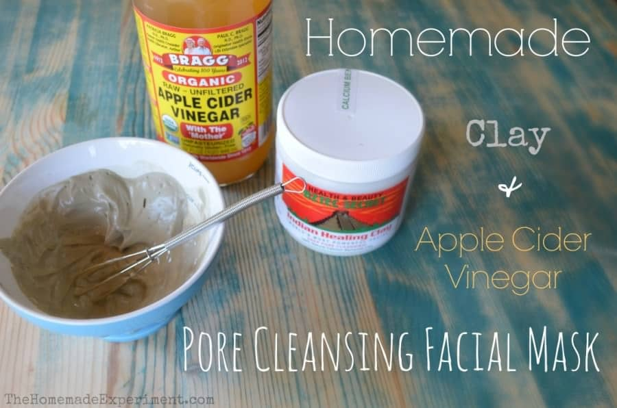 homemade clay pore cleansing facial mask