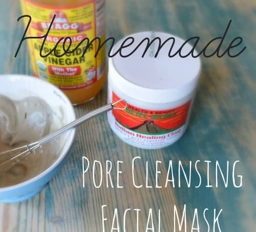 homemade pore cleansing facial mask