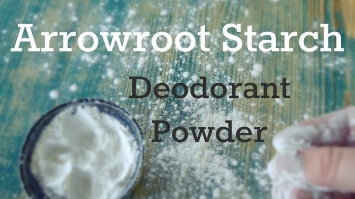 Arrowroot Deodorant Powder
