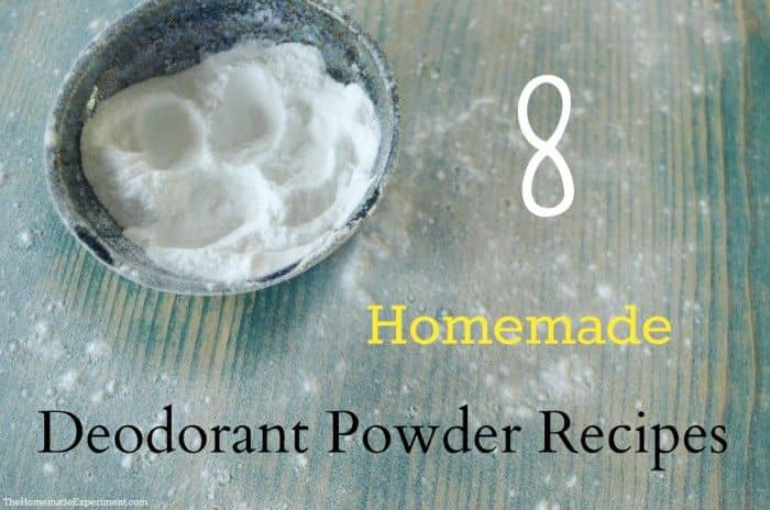 8 Homemade Deodorant Powder Recipes