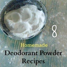 8 Homemade Deodorant Powder Recipes