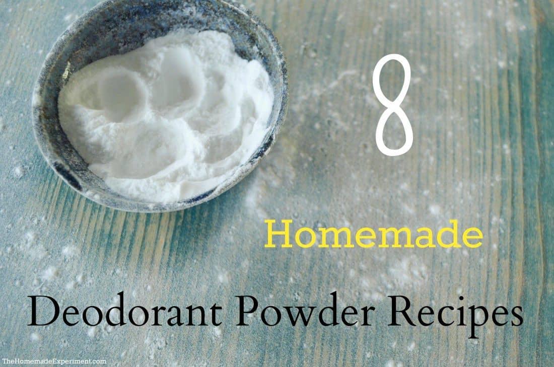 Eight Homemade Deodorant Powder Recipes To Keep You Fresh