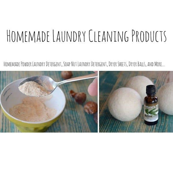 Homemade Natural Laundry solutions, Laundry Detergents, Fabric Softeners, and Laundry Scenting