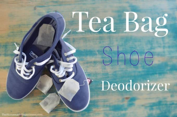 Homemade Shoe Deodorizer With Tea Bags