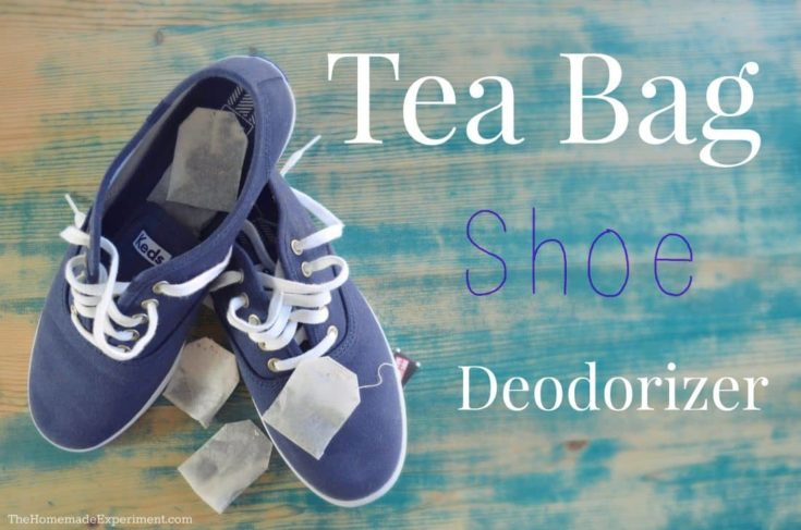 Use Tea Bags In Shoes To Remove Bad Odors