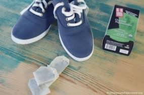 Homemade Shoe Deodorizer With Tea Bags | What You Need