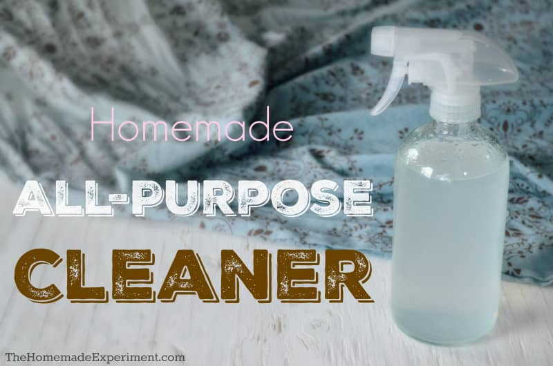 homemade all purpose cleaning spray