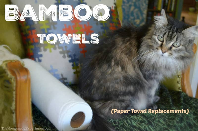 Bamboo Towel Paper Towel Replacements