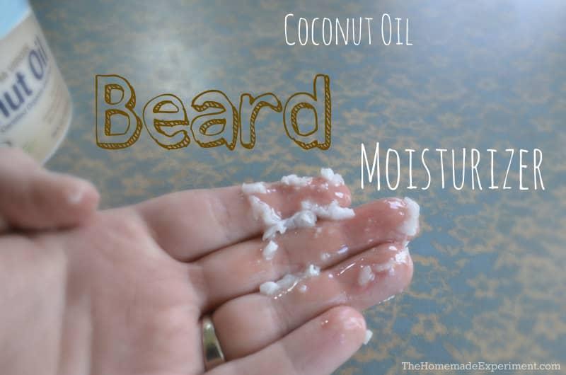 How to Make Homemade Coconut Beard Oil Moisturizer