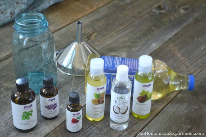 Homemade Diffuser Oil Ingredients