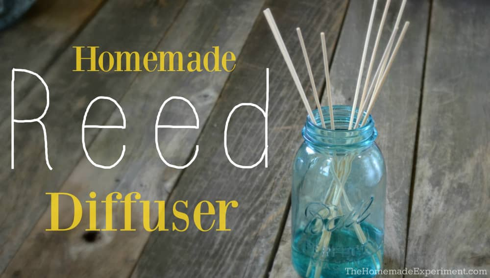 How To Make A Homemade Reed Diffuser DIY