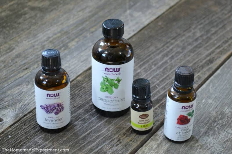 homemade diffuser oil - essential oil