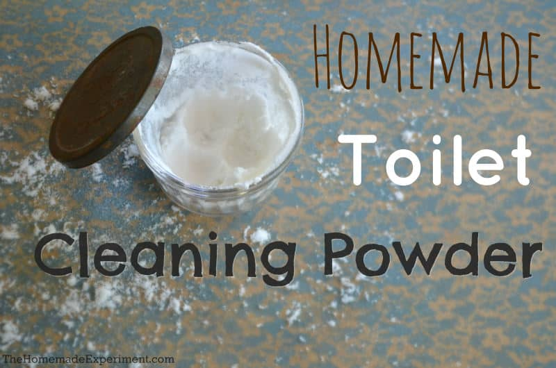 how to make homemade toilet cleaner