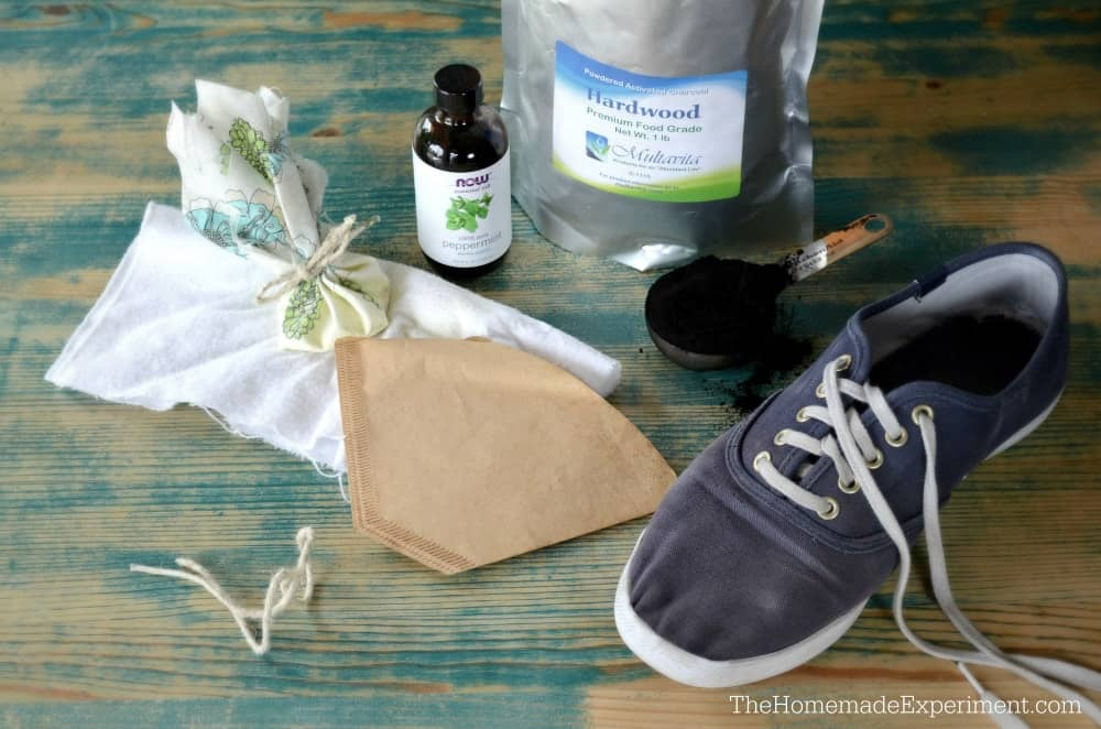 homemade charcoal shoe deodorizer ingredients