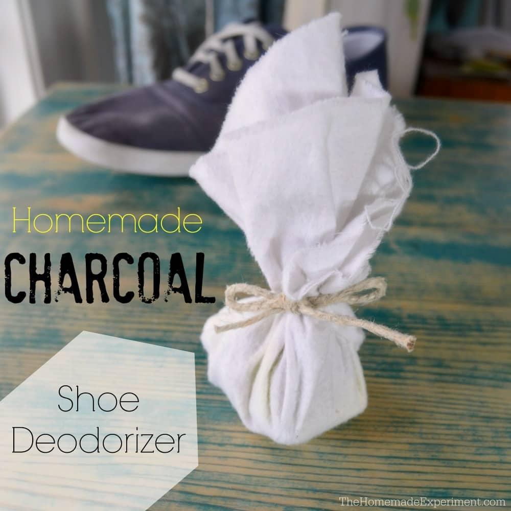 Finished Charcoal Shoe Deodorizer