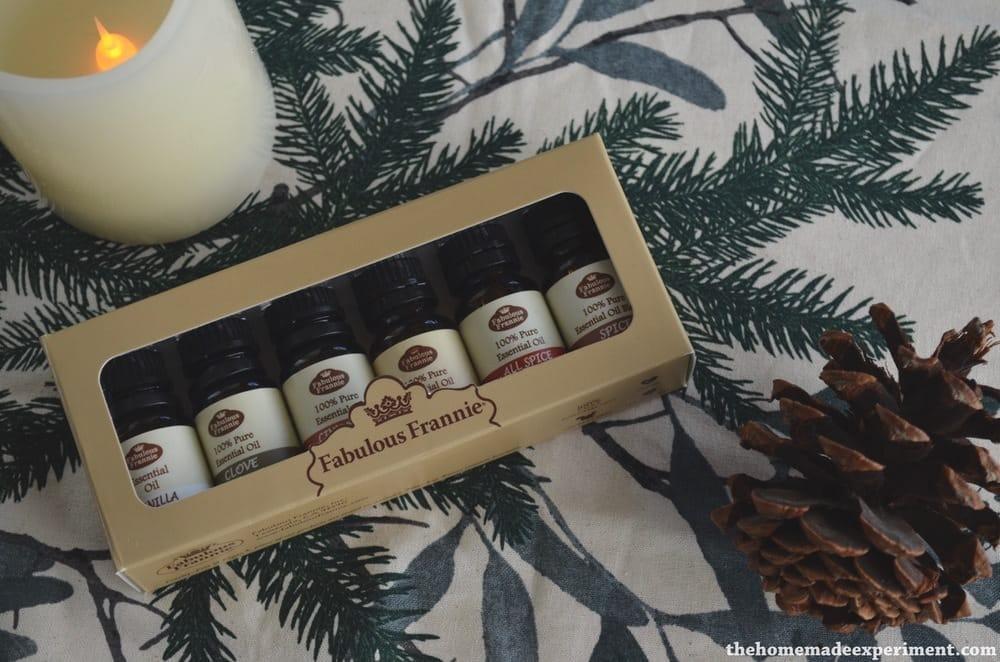 Winter essential oils set