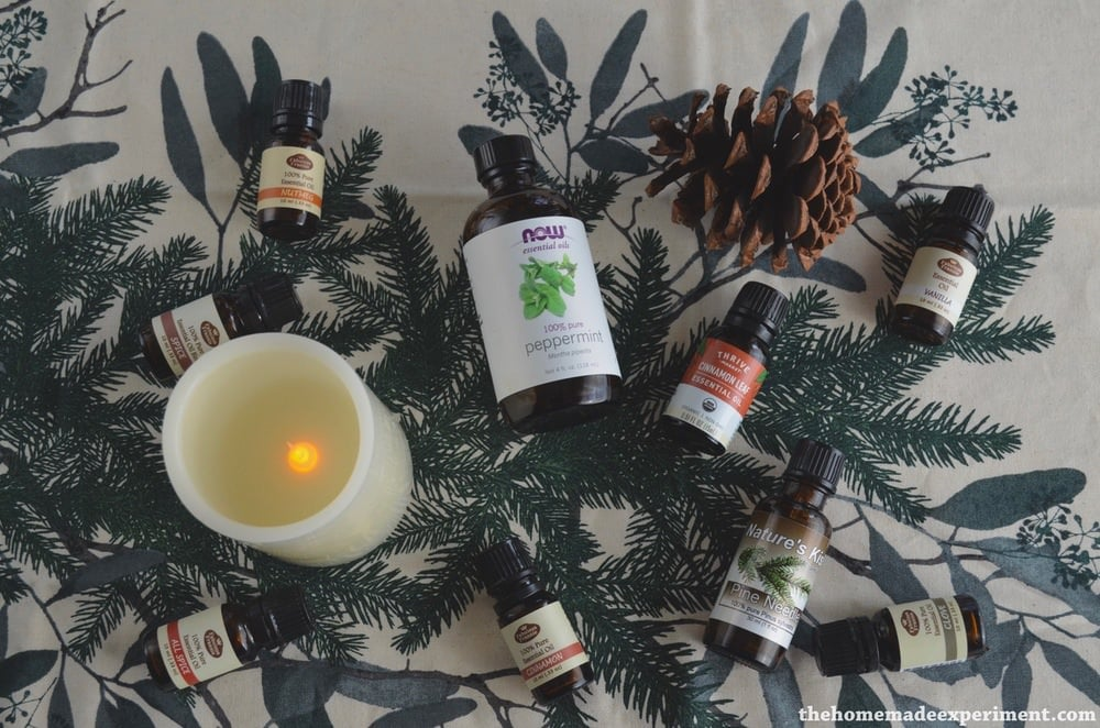 Single source essential oils for winter.