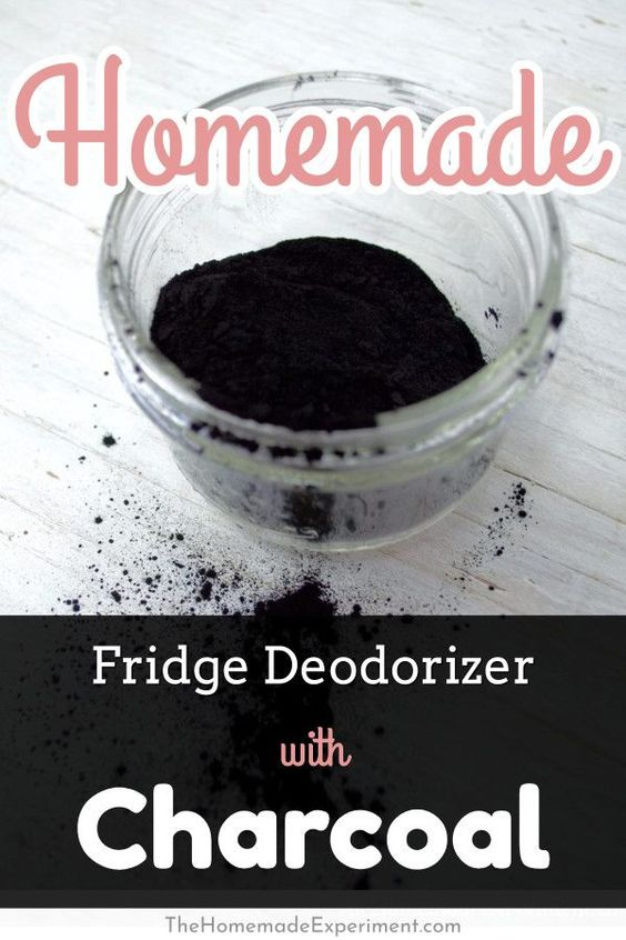 How to make your own homemade charcoal fridge deodorizer.