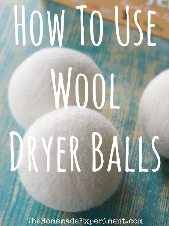 How to use wool dryer balls and do they work.