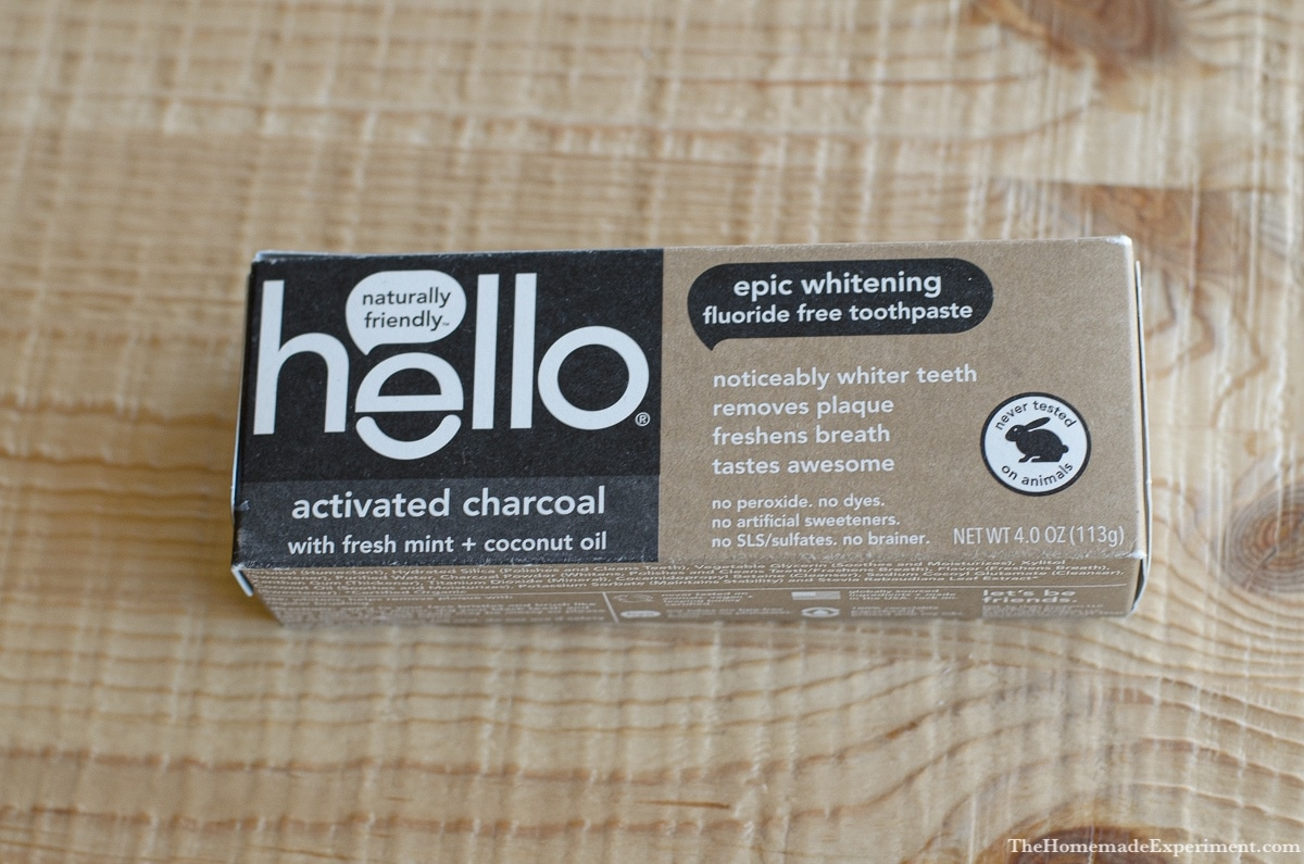 Hello Charcoal Toothpaste Review: Tooth Whitening with Activated Charcoal!