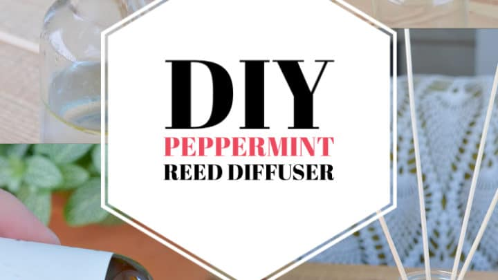 How to Make a DIY Peppermint Reed Diffuser