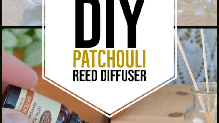 How to make a diy patchouli reed diffuser